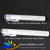 10ml spray pen bottle with keychain for instant hand sanitizer
