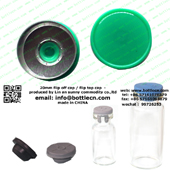 20mm flip top cap green FC20-12P