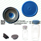 20mm flip top cap blue FC20-17P