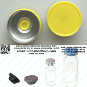 yellow lemon 20mm flip-off cap FC20-30P
