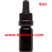 5ml Ultraviolet UV glass pipette dropper bottle protection against visible light wavelengths