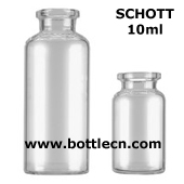 SCHOTT tubular glass injection vials freeze drying vials