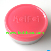 pink keifei 20mm aluminium flip off seals