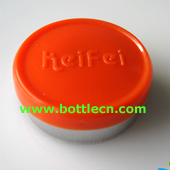 orange keifei 20mm flip off seal off cap for injection vials
