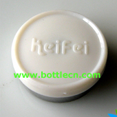 white keifei 20mm aluminum flip off cap seal