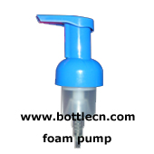 empty foaming pump cosmetic bottle