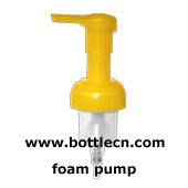 foam pump for cosmetic and household applications