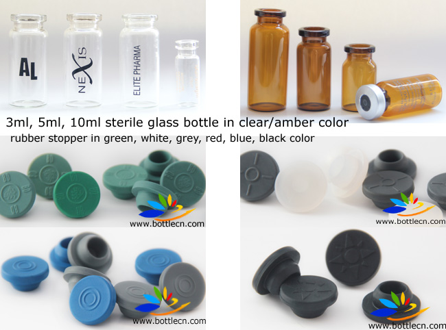 Ml Crimp Seal Glass Serum Vial
