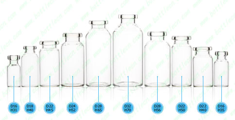 Name Low Borosilicate Tubular Glass Vials For Injection